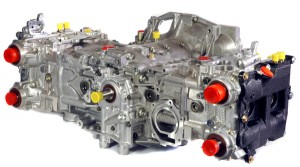 Cosworth Subaru EJ25 series horizontally opposed boxer engine longblock