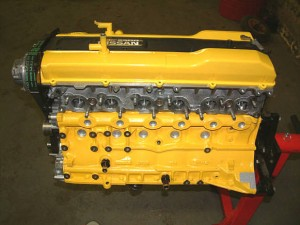 Nissan RB25DET inline six cylinder engine