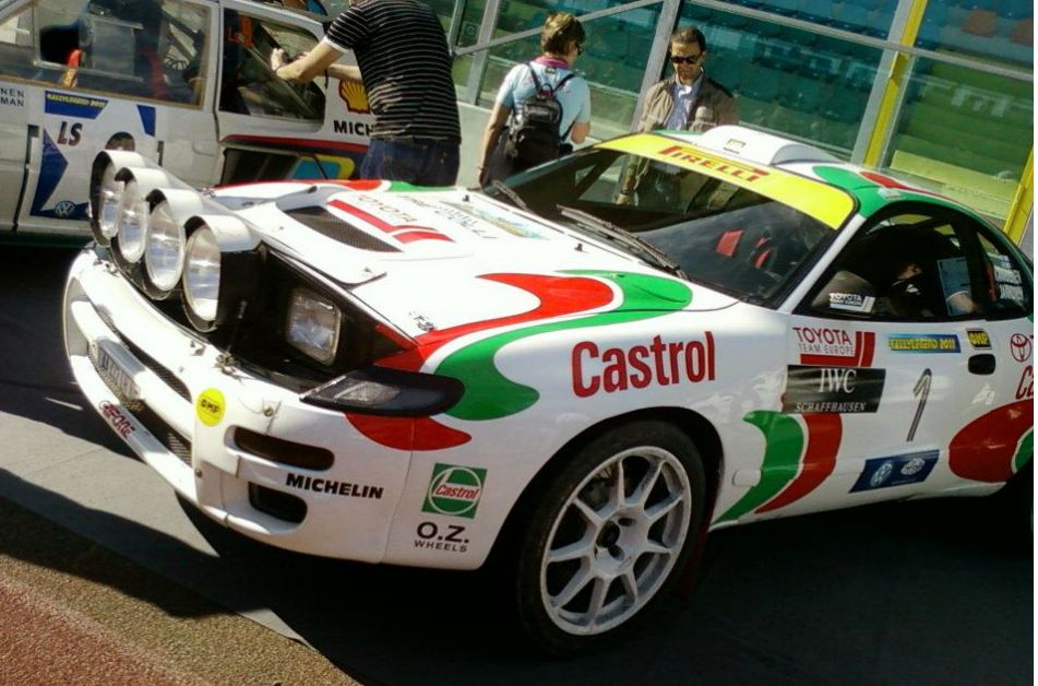 Toyota Celica Rally Car Castrol