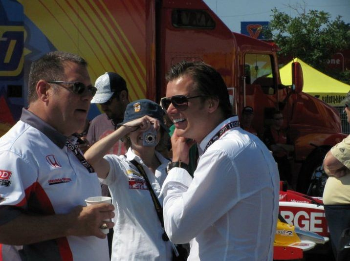 Dan Wheldon in Toronto