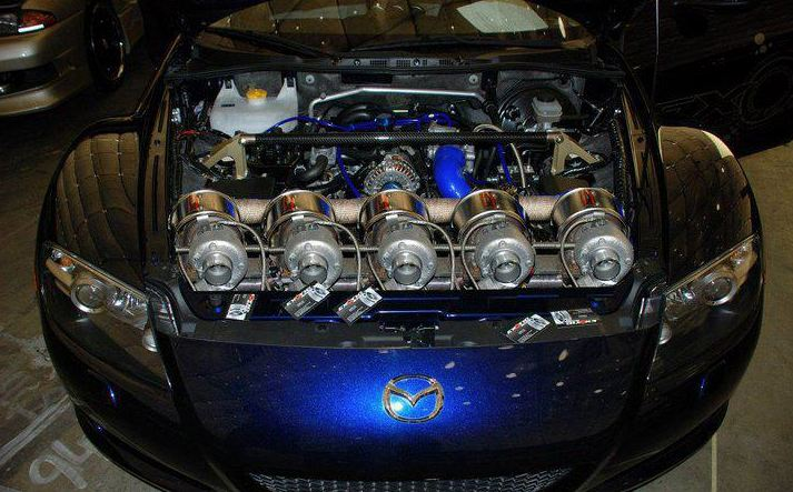 Mazda with 5 turbos