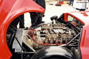 Ferrari 365 GT4 BB flat 12 cylinder 180 degree V12 Colombo motor