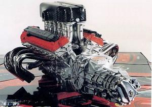 Enzo Ferrari Engine with Gearbox
