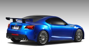 Subaru BRZ STI concept rear view