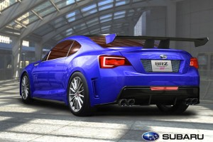 Subaru BRZ Concept rear view