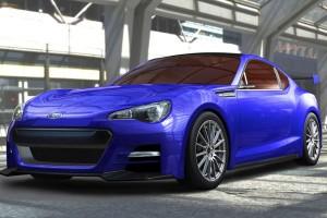 Subaru BRZ Concept front view
