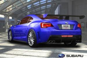 Subaru BRZ Concept rear view